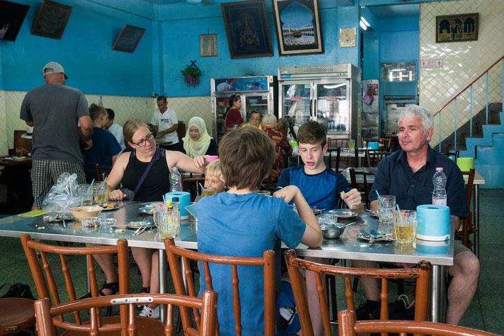 At Muslim restaurant in Bangrak, Bangkok