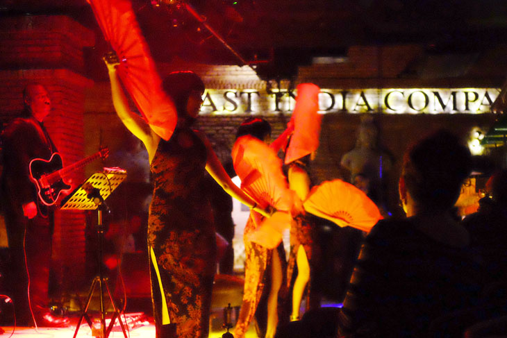Special night bar show in Bangkok