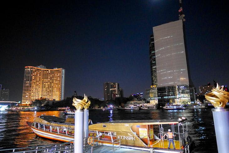 Chaophaya river by night, Bangkok