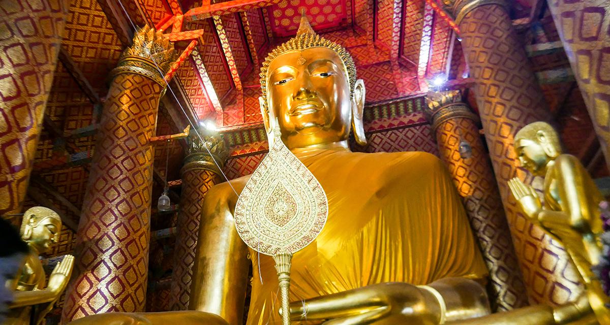 Ayutthaya Ancient Buddha Image