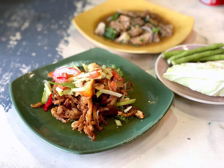 Thai Northeastern/Esan food at Chatuchak Market