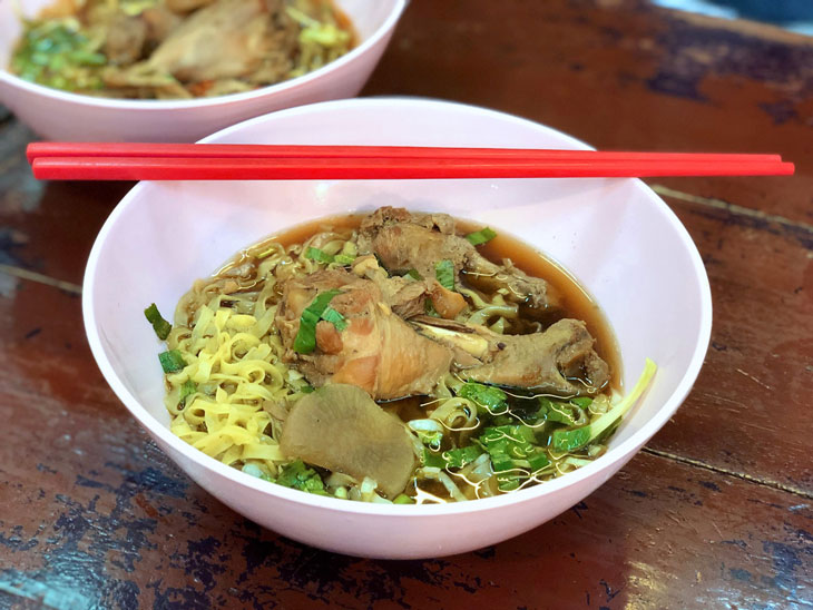 Chicken Noodle at Chatuchak Market