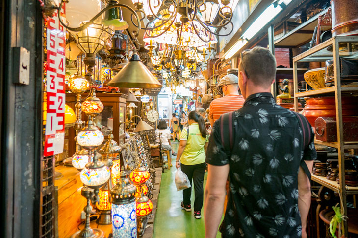 Shopping at Chatuchak Market