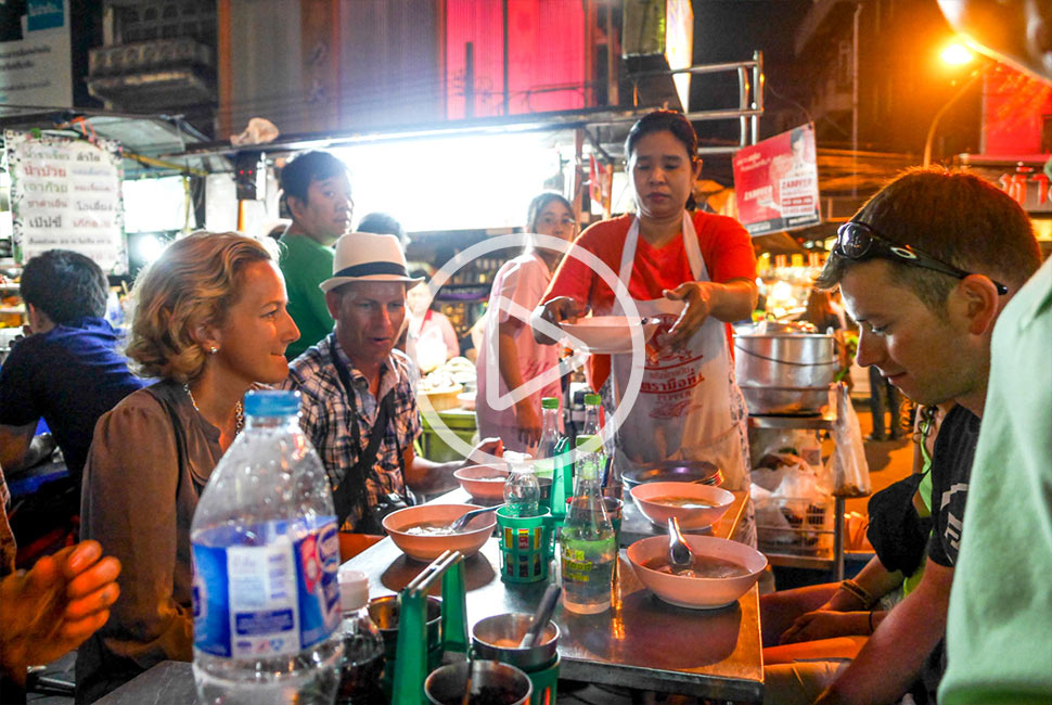 Bangkok Chinatown Food Tour Promotional Video