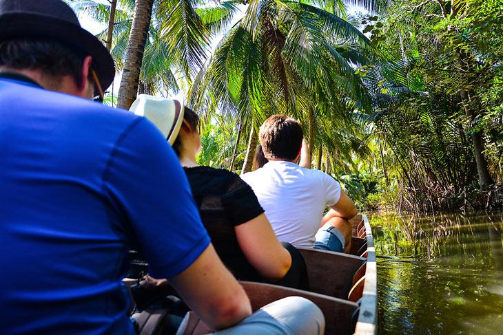 Cruising over Chaophaya river, Bangkok