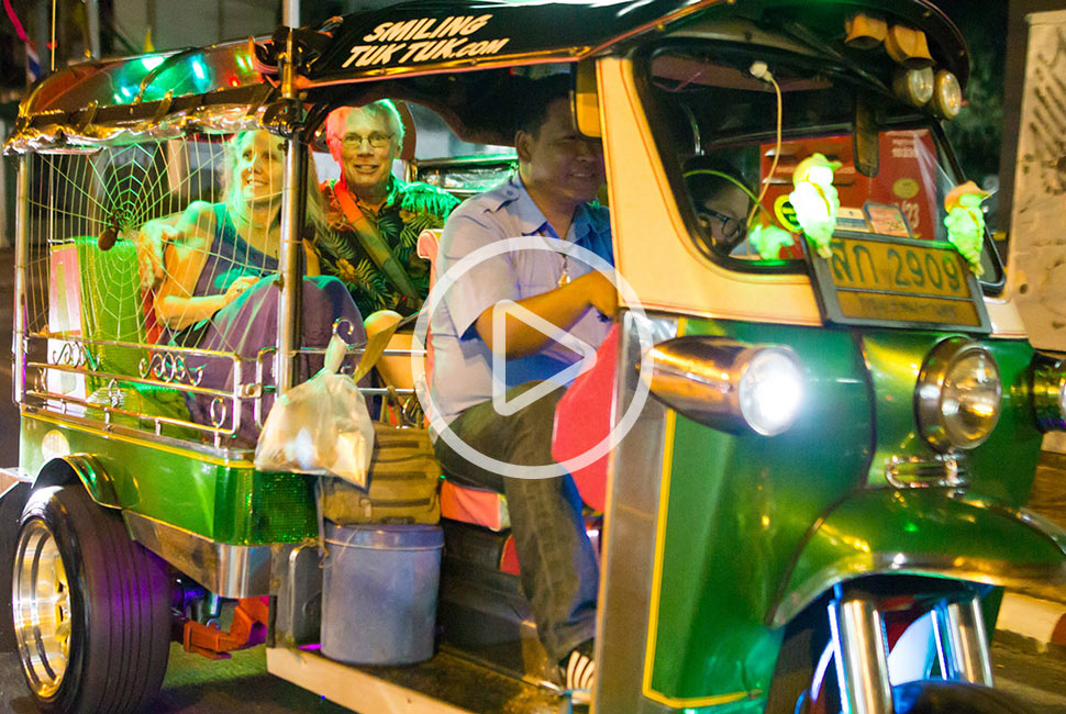 Bangkok Midnight Food Tour Promotional Video