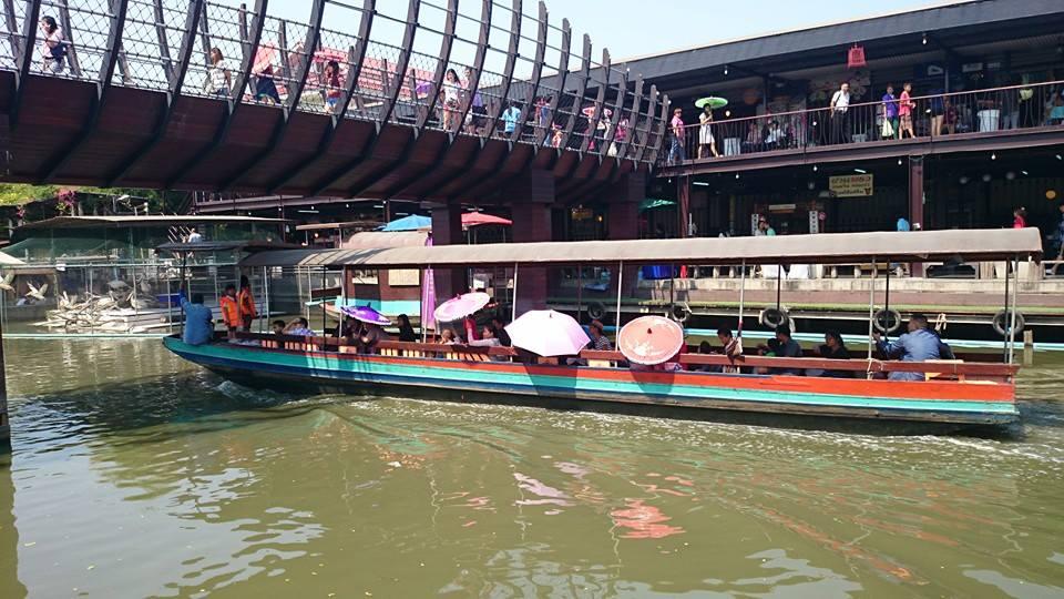 Boat | Kwan Riam Floating Market | Bangkok Food Tours