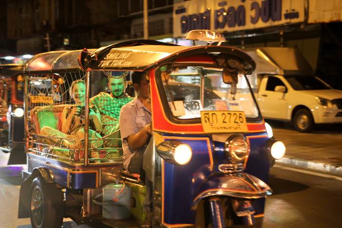 Evening food tour by Tuk Tuk | Things to do in Bangkok | Bangkok Food Tours
