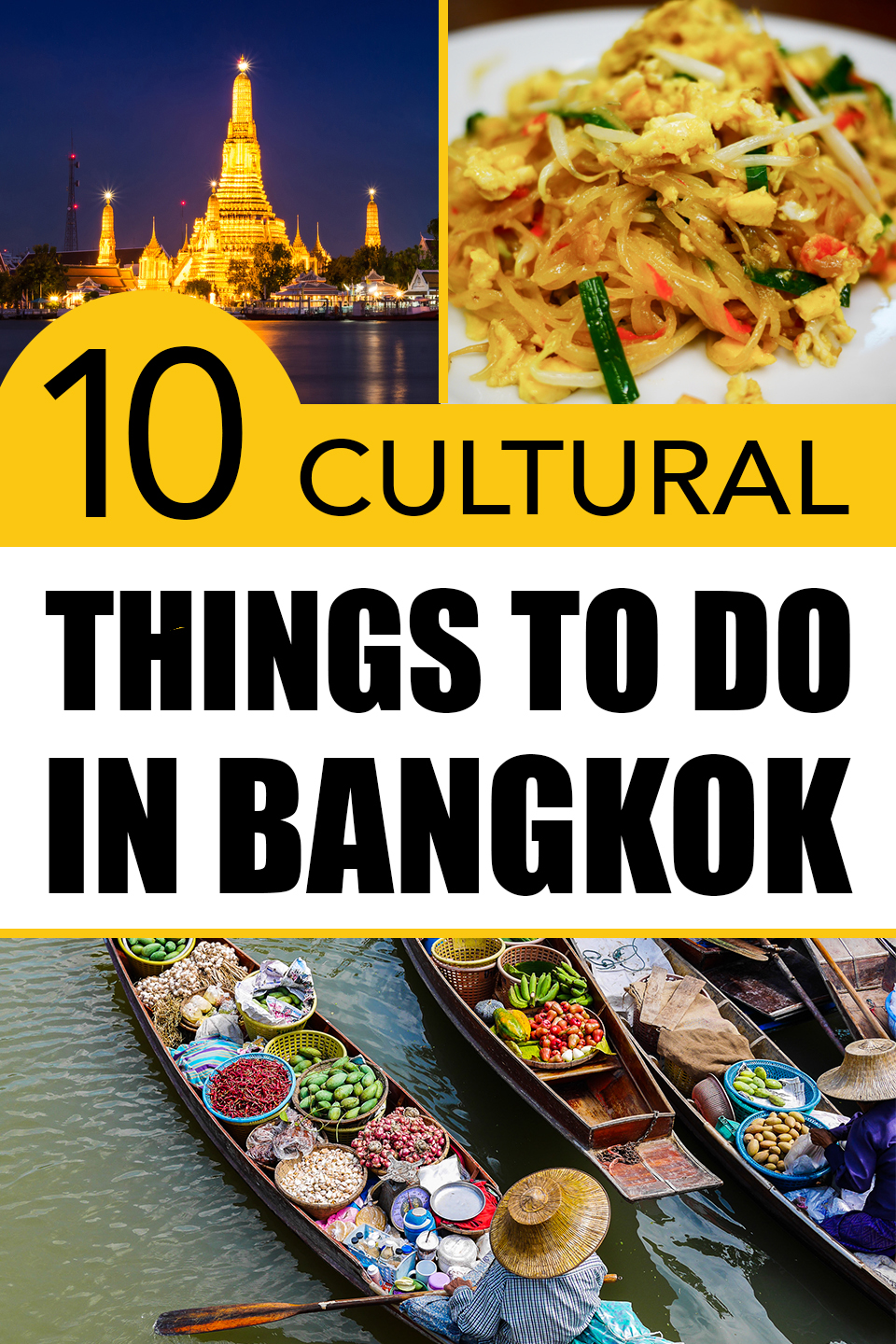 Vertical poster | Things to do in Bangkok | Bangkok Food Tours