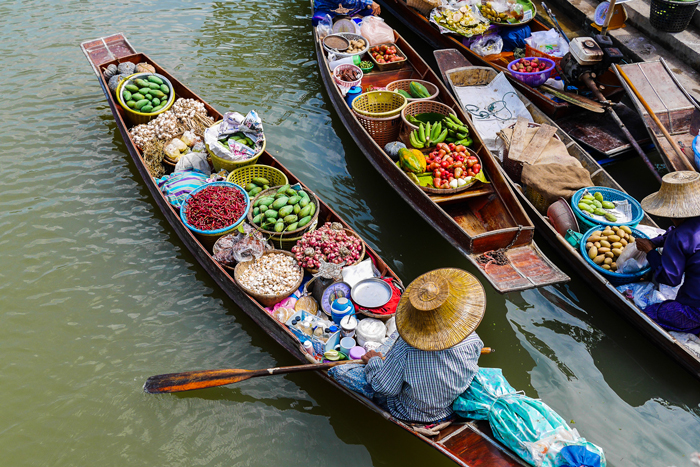 Top 5 Floating Markets Near Bangkok