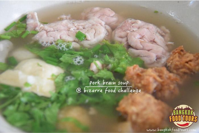 Pig organ soup | Bangkok Bizarre Food | Bangkok Food Tours