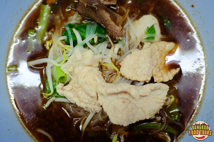 Blood noodle soup | Bangkok Bizarre Food | Bangkok Food Tours