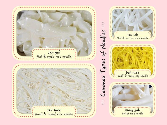 step 4 noodle type | order noodle soup | Bangkok Food Tours