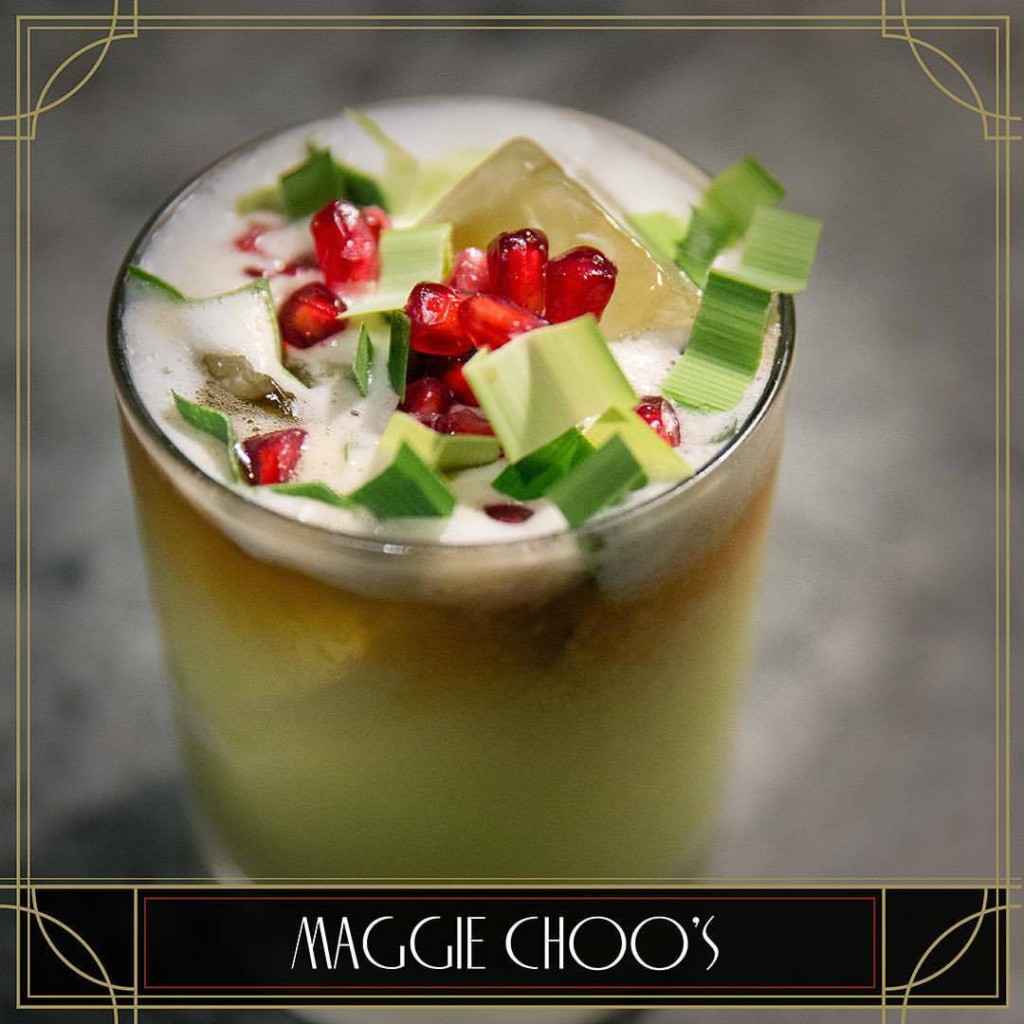 Maggie Choo's drink | Exotic Bars in Bangkok | Bangkok Food Tours