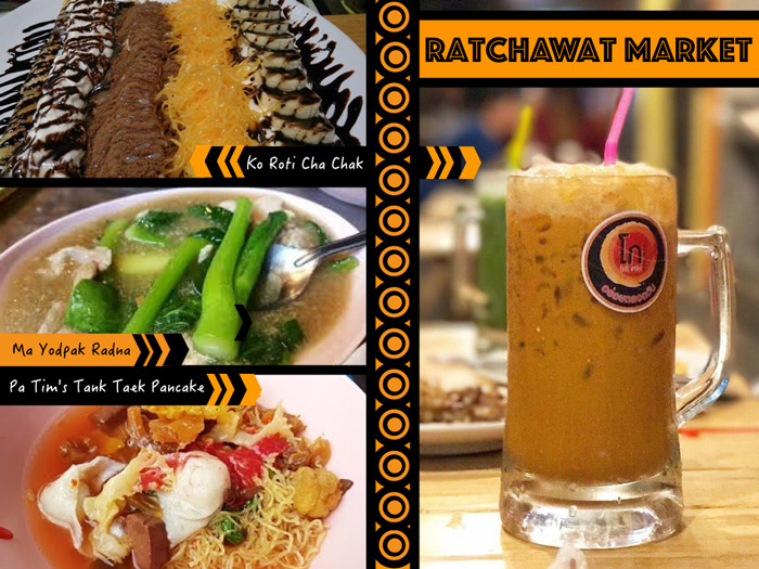 Ratchawat Market | Street Food in Bangkok | Bangkok Food Tours