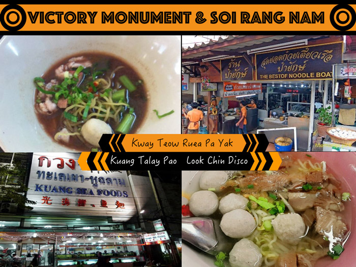 Victory Monument & Soi Rang Nam | Street Food in Bangkok | Bangkok Food Tours