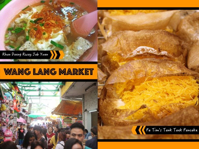 Wang Lang Market | Street Food in Bangkok | Bangkok Food Tours