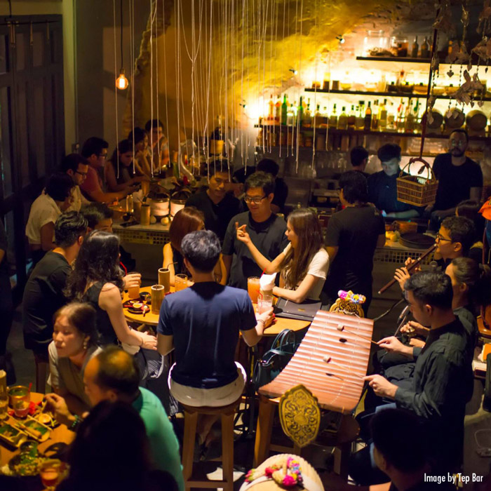 Tep Bar | Exotic Bars in Bangkok | Bangkok Food Tours