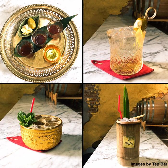 Tep Bar drinks | Exotic Bars in Bangkok | Bangkok Food Tours