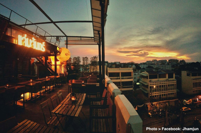 Bangkok's Alternative Rooftop Bar #2 - Jham Jun