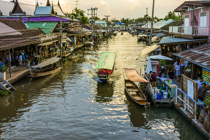 Amphawa Floating Market   train trips from Bangkok   Bangkok Food Tours