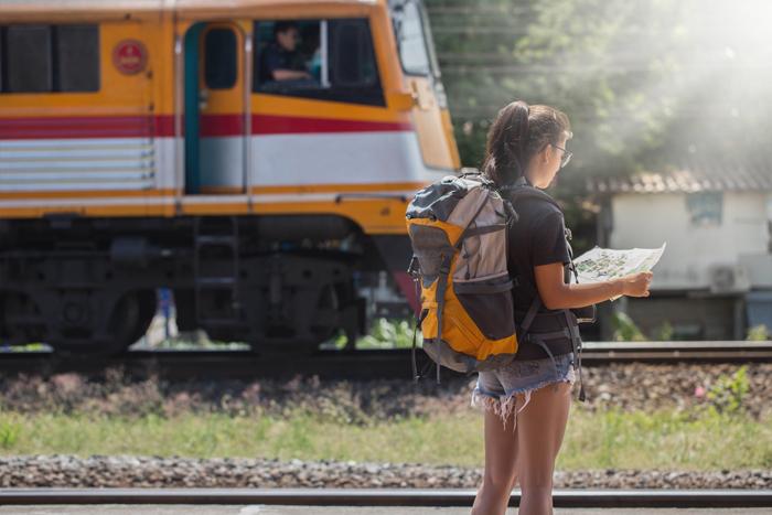 Ayutthaya Train Station | train trips from Bangkok | Bangkok Food Tours