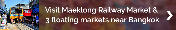 Blog banner_FMT_visit Maeklong Railway Market & 3 floating markets near Bangkok
