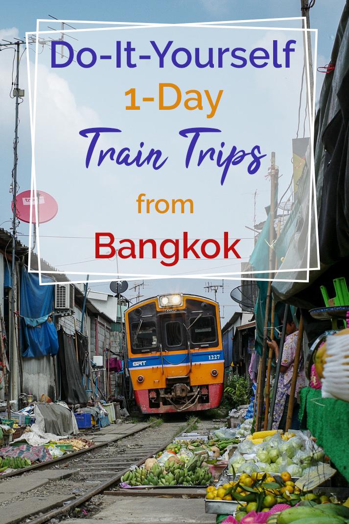 Horizontal poster   train trips from Bangkok   Bangkok Food Tours