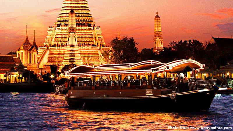 Apsara Dinner Cruise   Valentine's Day in Bangkok   Bangkok Food Tours