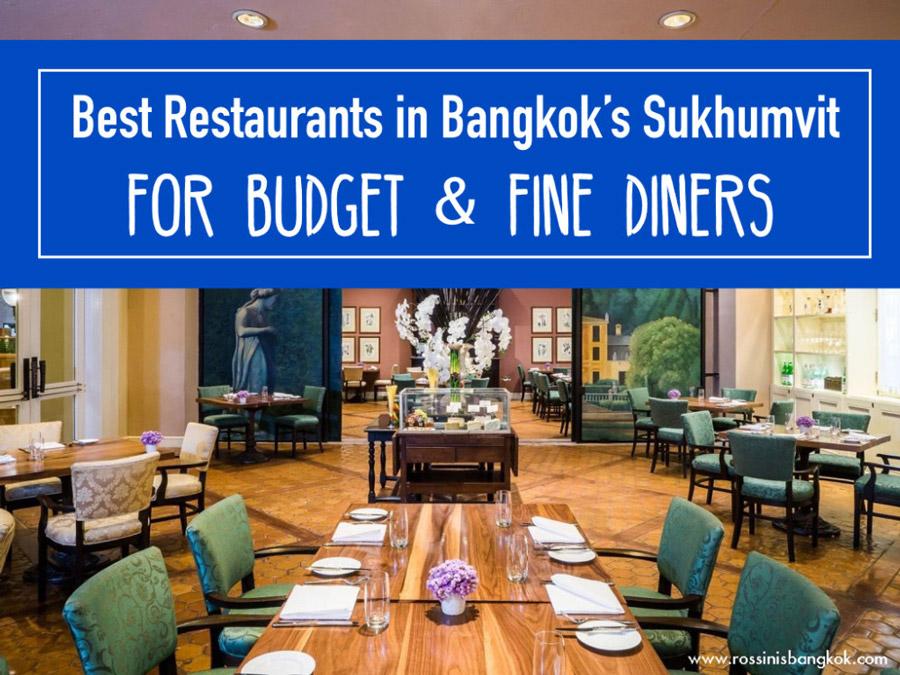 Best restaurants in Sukhumvit, Bangkok - Bangkok Food Tours