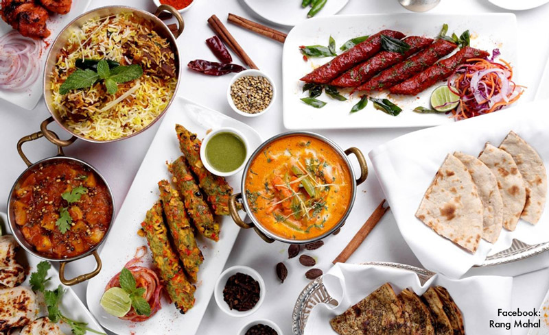 Sunday Brunch at Rang Mahal - Bangkok Food Tours