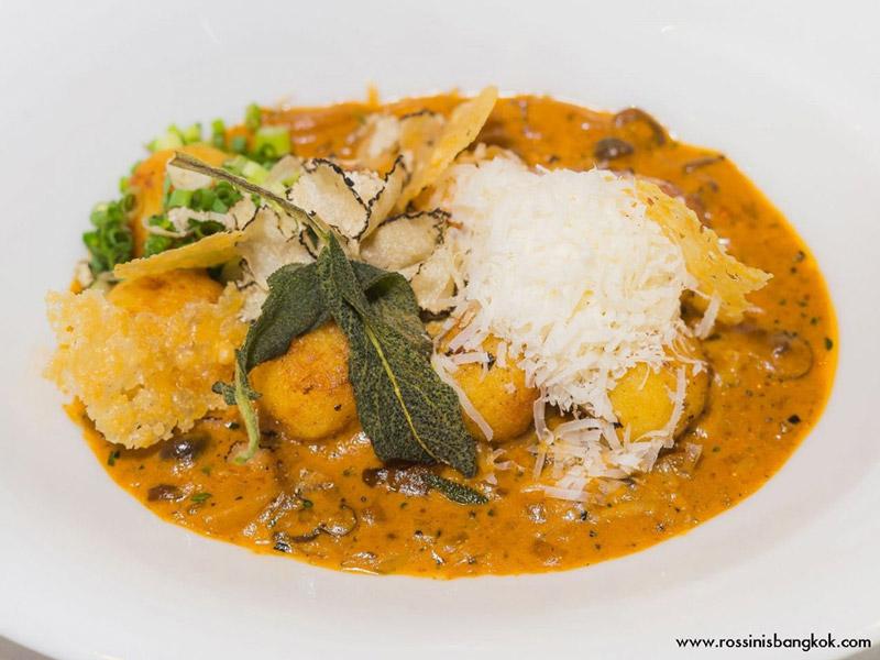 Gnocchi, Rossini's - Bangkok Food Tours