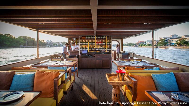 Supanniga Cruise   Valentine's Day in Bangkok   Bangkok Food Tours