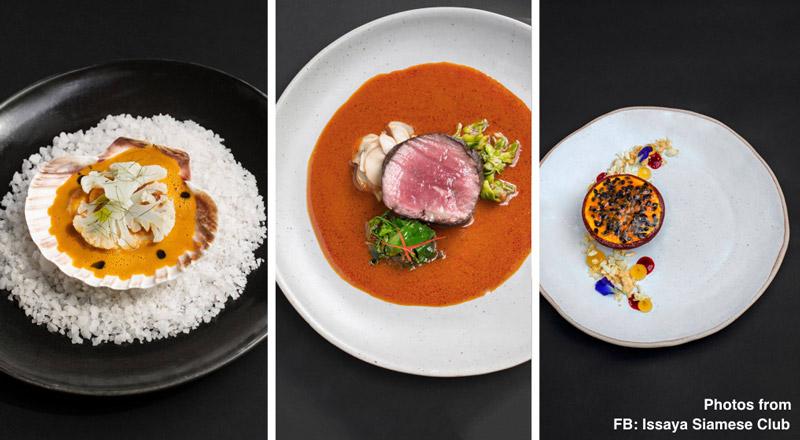Delicious dishes at Issaya Siamese Club   Valentine's Day in Bangkok   Bangkok Food Tours
