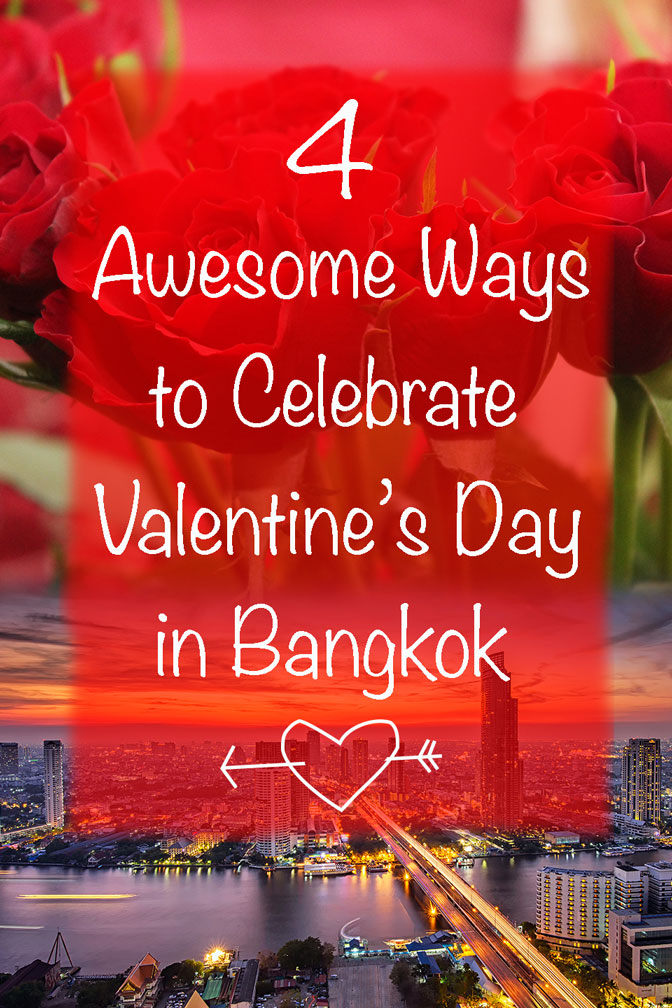 Vertical poster | Valentine's Day in Bangkok | Bangkok Food Tours