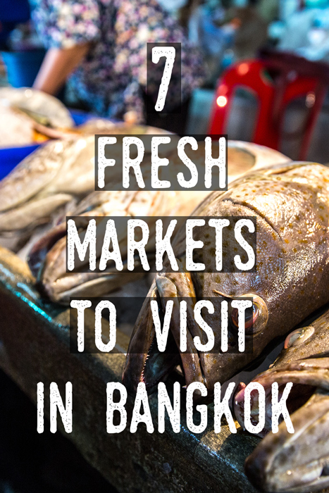 Vertical poster | Bangkok fresh markets | Bangkok Food Tours