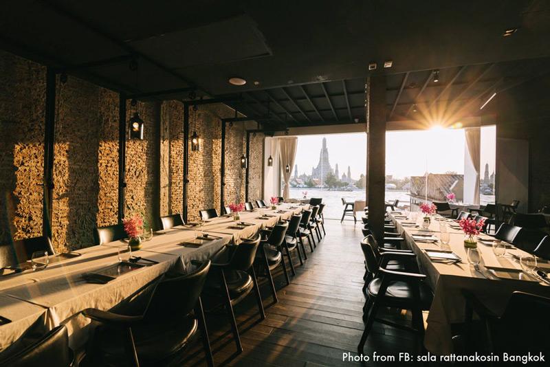 sala rattanakosin Bangkok Restaurant | Valentine's Day in Bangkok | Bangkok Food Tours