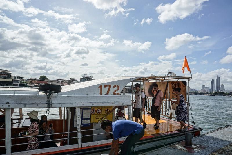 Chao Phraya Express Boat | Chao Phraya River Sightseeing | Bangkok Food Tours