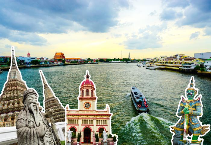 Do-It-Yourself Chao Phraya River Sightseeing Trip | Bangkok Food Tours