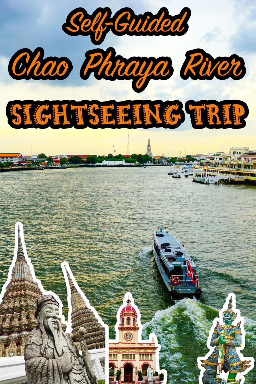 Vertical poster | Chao Phraya River Sightseeing | Bangkok Food Tours
