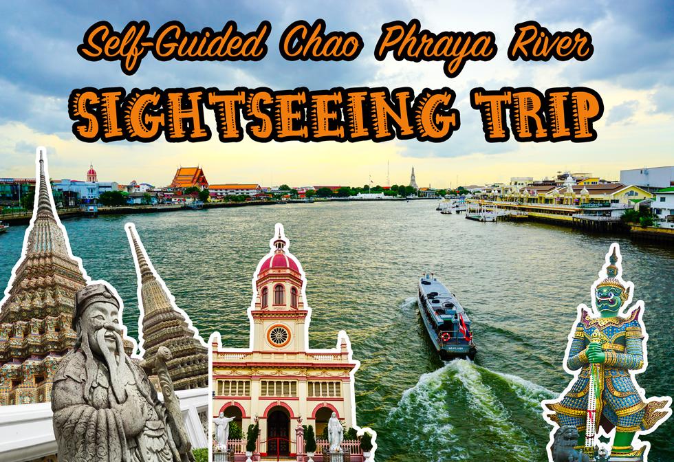 Horizontal poster | Chao Phraya River Sightseeing | Bangkok Food Tours