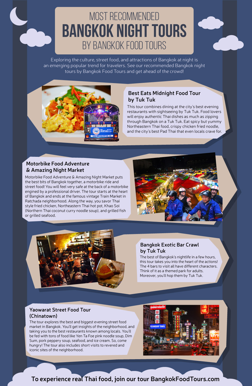 Infographic | Bangkok night tours | Bangkok Food Tours