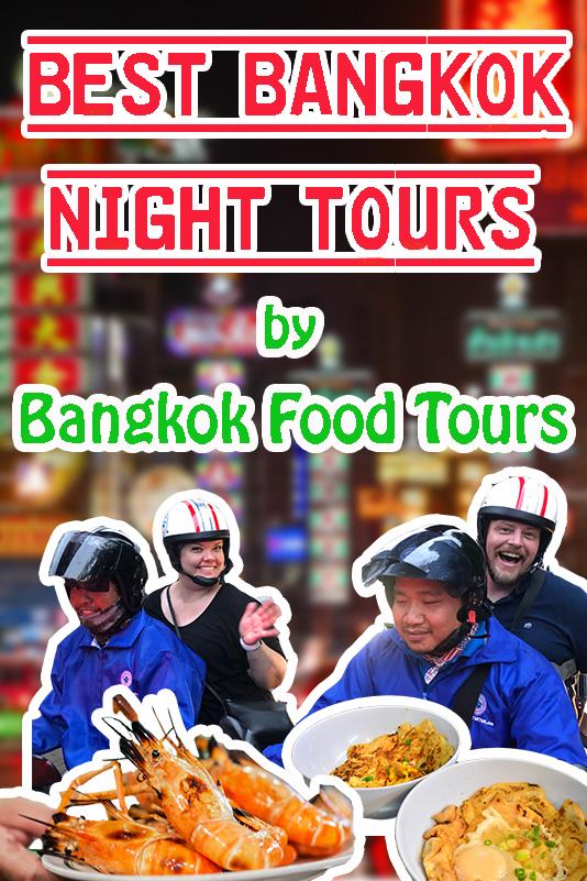Vertical poster | Bangkok night tours | Bangkok Food Tours
