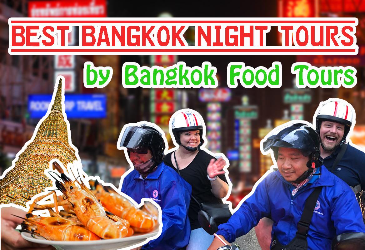 Horizontal poster | Bangkok night tours | Bangkok Food Tours