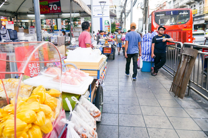 Street food scene_Bangrak Tour | Street food tour in Bangkok | Bangkok Food Tours
