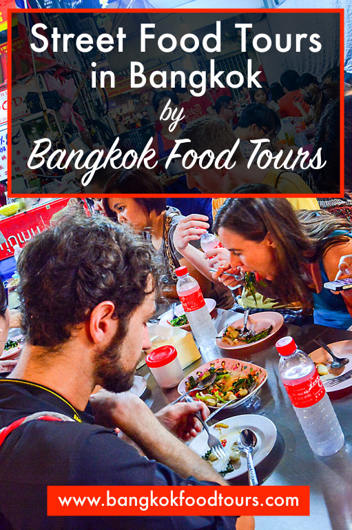 Vertical poster | Street food tour in Bangkok | Bangkok Food Tours