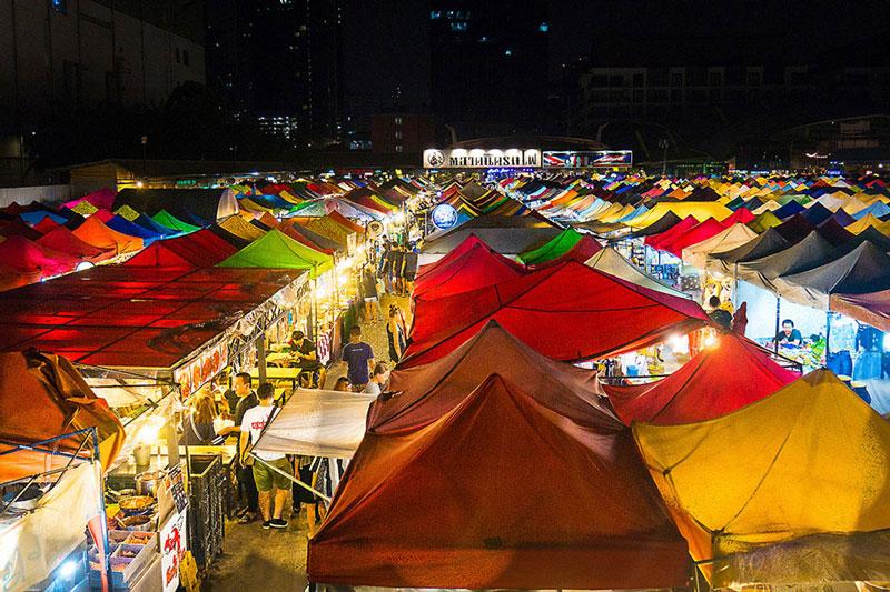 Train Market_Motorbike Tour | Bangkok night tours | Bangkok Food Tours