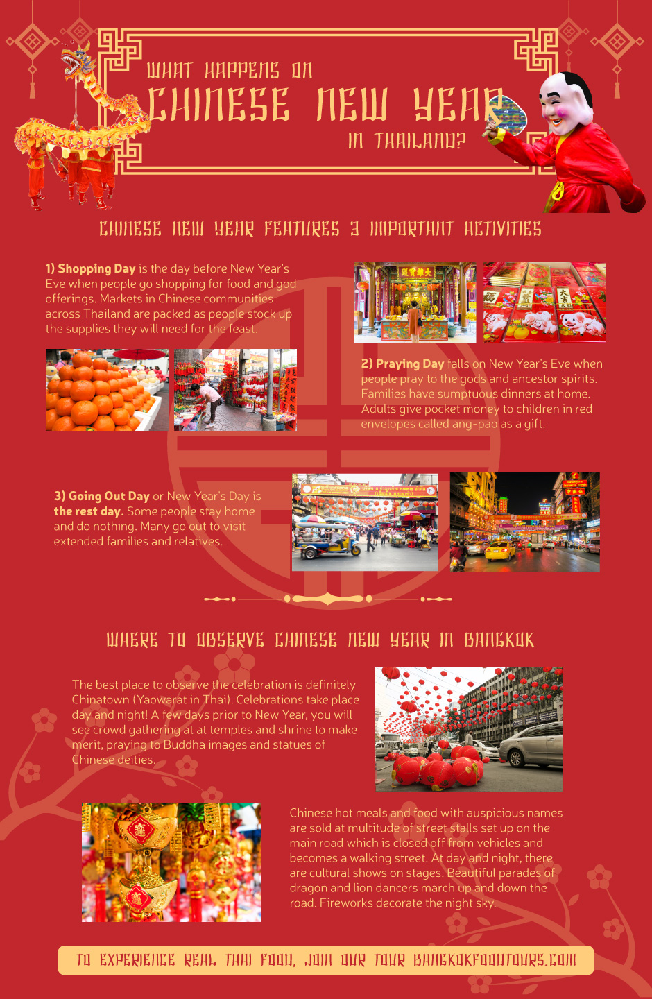 Info graphic | Chinese New Year in Bangkok | Bangkok Food Tours