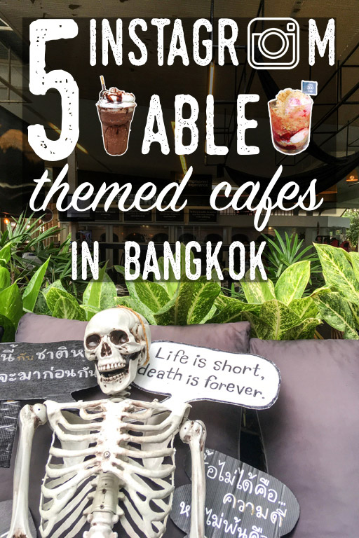 Vertical poster | Instagramable cafes in Bangkok | Bangkok Food Tours