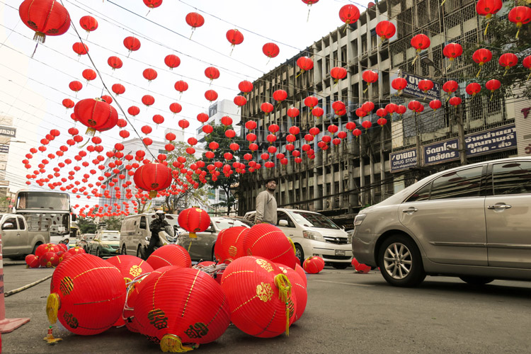 Lantern preparation | Chinese New Year in Bangkok | Bangkok Food Tours